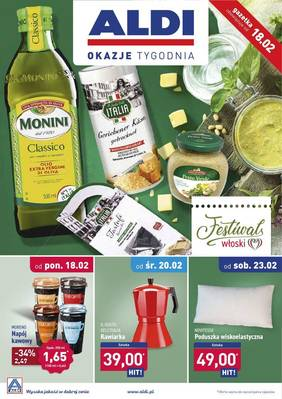 ALDI gazetka - od 18/02/2019 do 24/02/2019