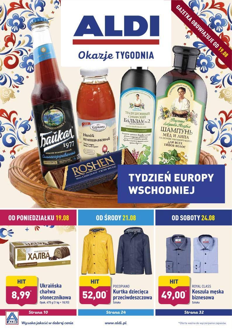 Gazetka promocyjna ALDI do 25/08/2019 str.1