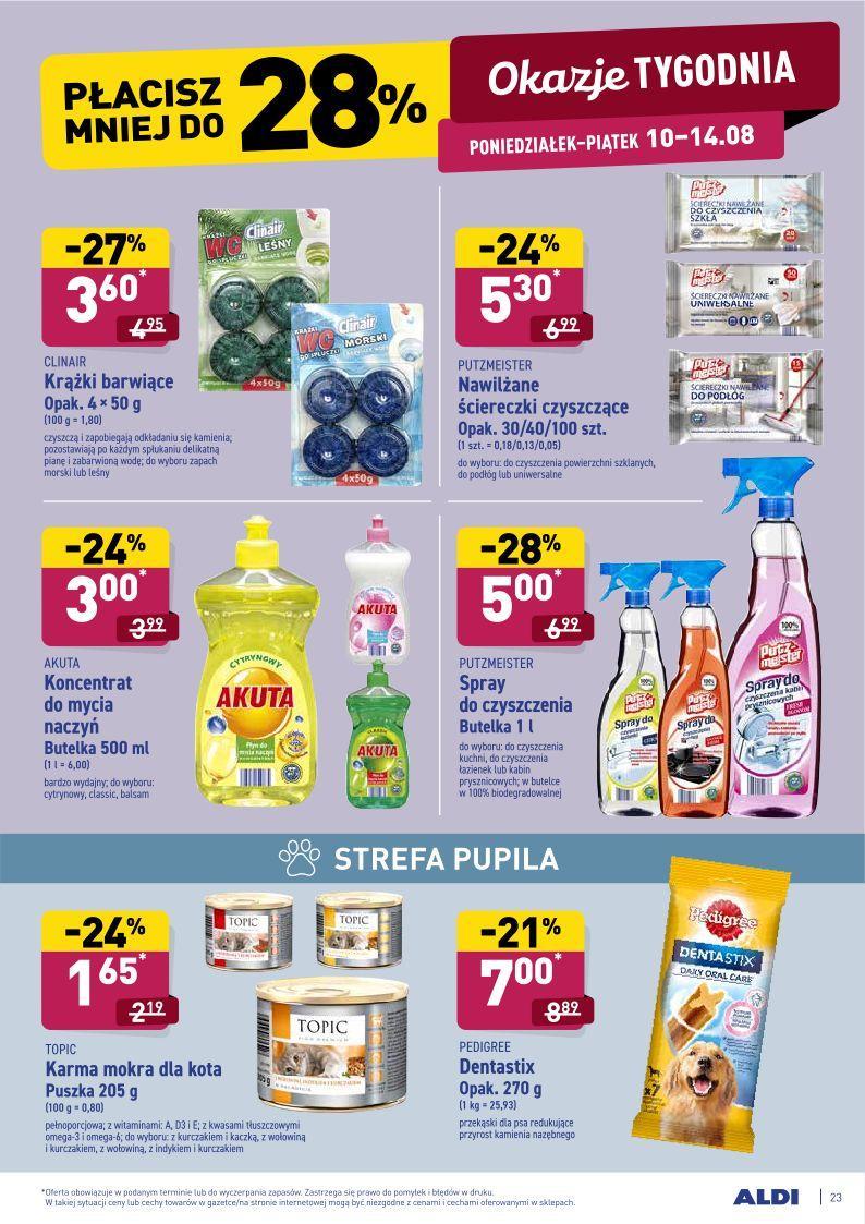 Gazetka promocyjna ALDI do 15/08/2020 str.22