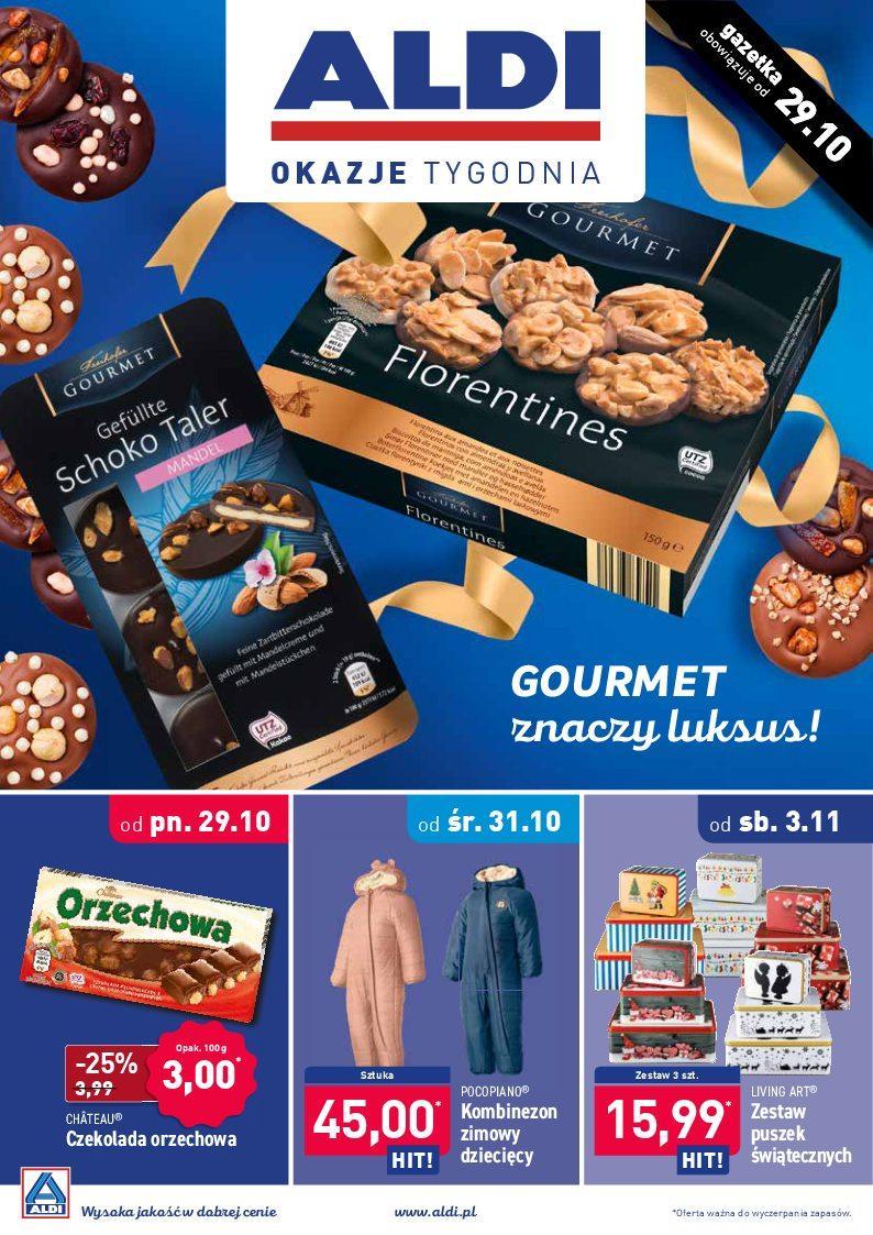 Gazetka promocyjna ALDI do 04/11/2018 str.1