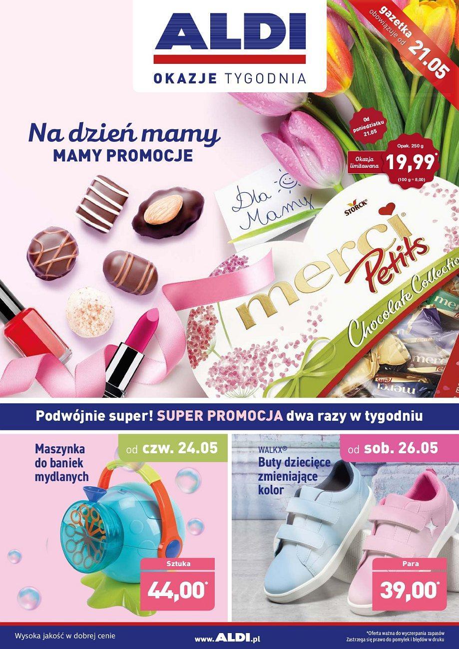 Gazetka promocyjna ALDI do 27/05/2018 str.0
