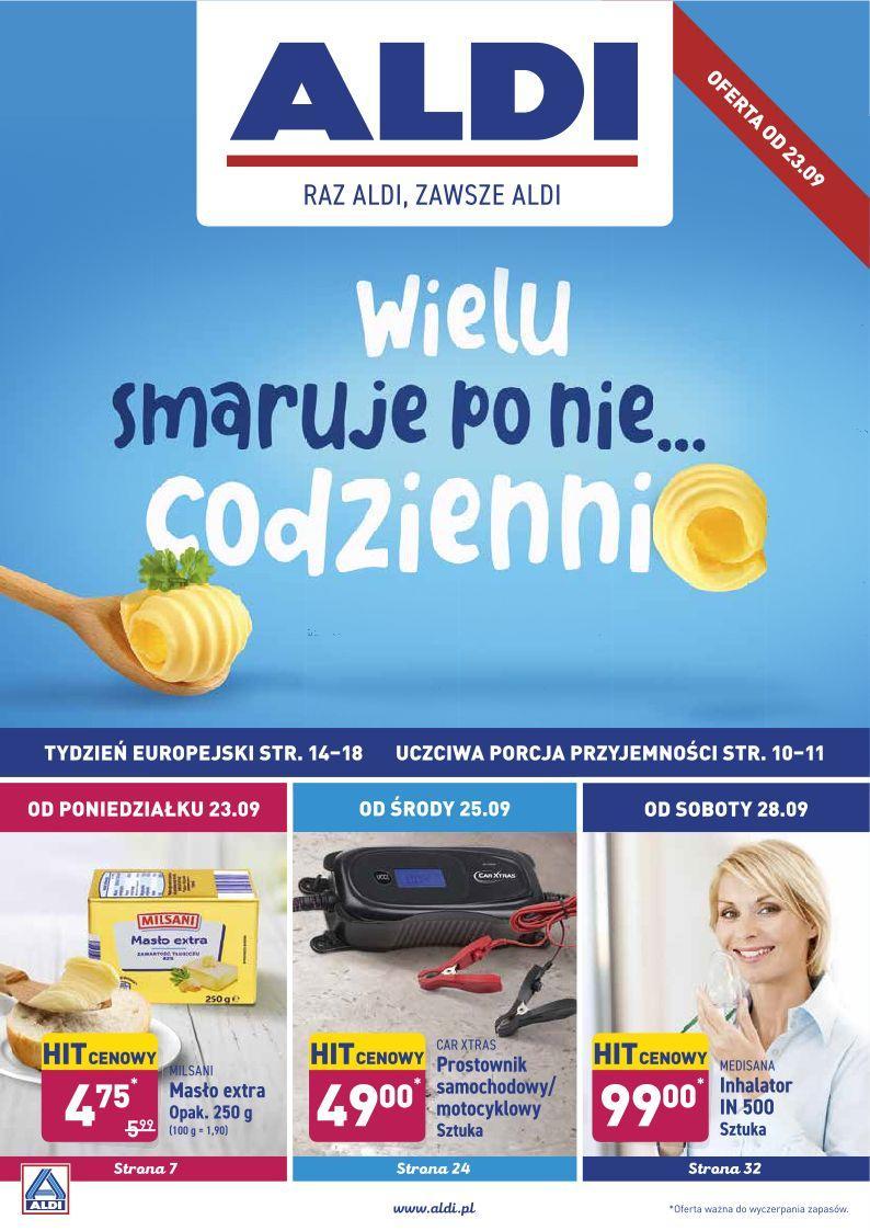 Gazetka promocyjna ALDI do 29/09/2019 str.1