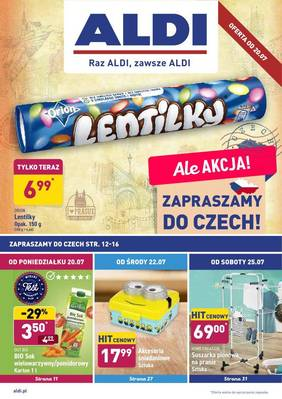 ALDI gazetka - od 20/07/2020 do 26/07/2020
