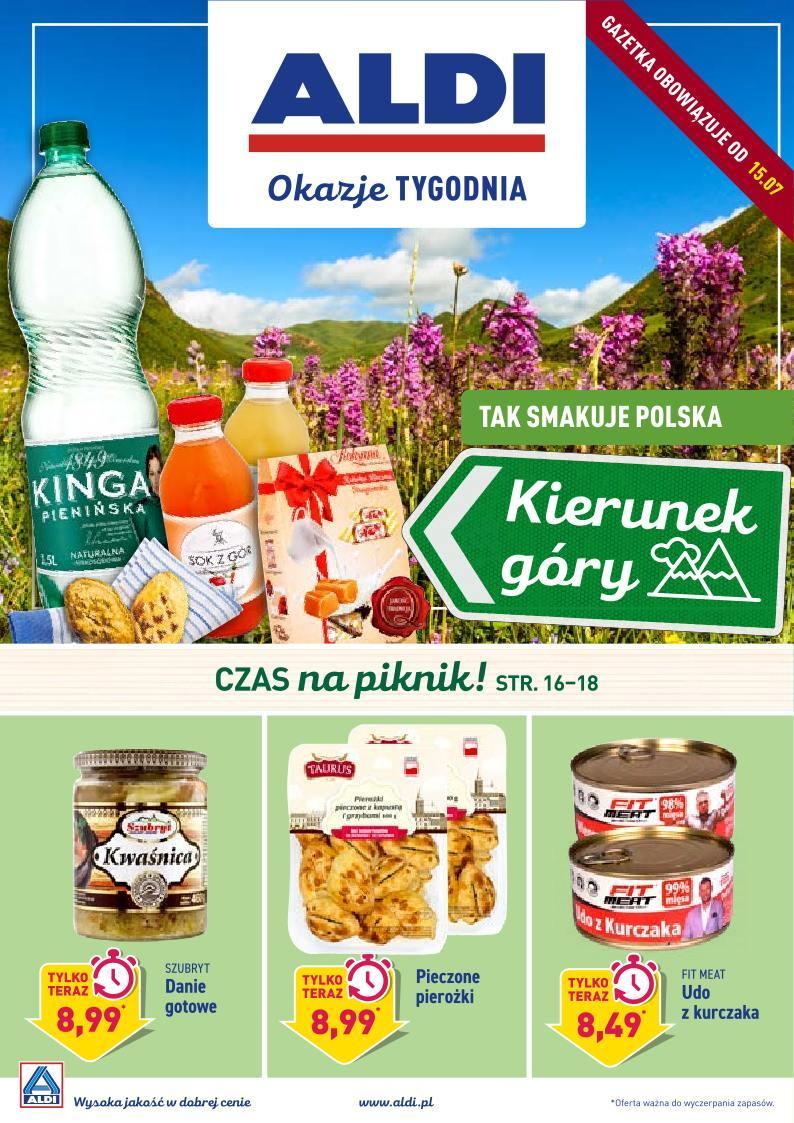 Gazetka promocyjna ALDI do 20/07/2019 str.1
