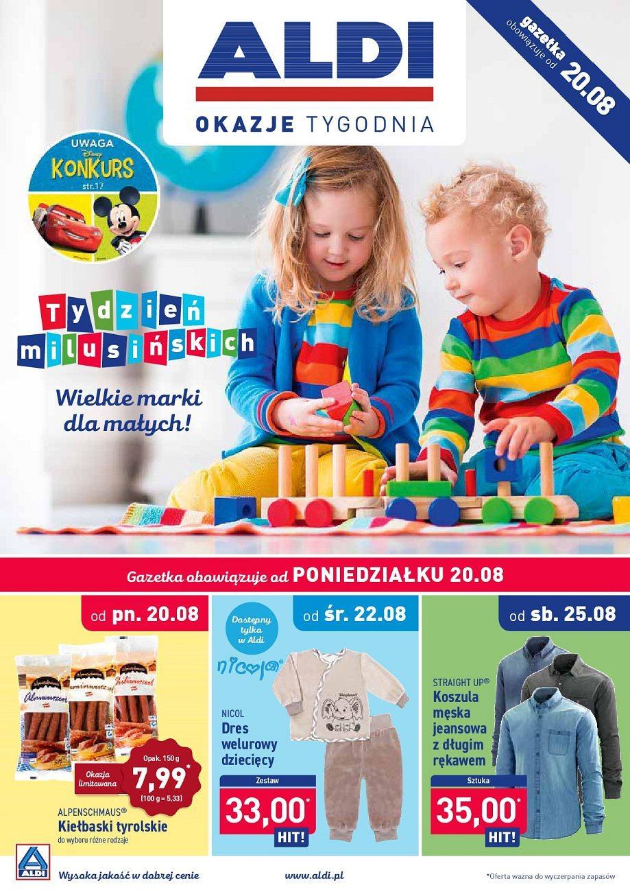 Gazetka promocyjna ALDI do 25/08/2018 str.1