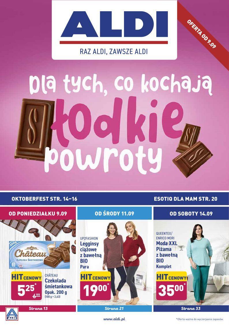 Gazetka promocyjna ALDI do 14/09/2019 str.1