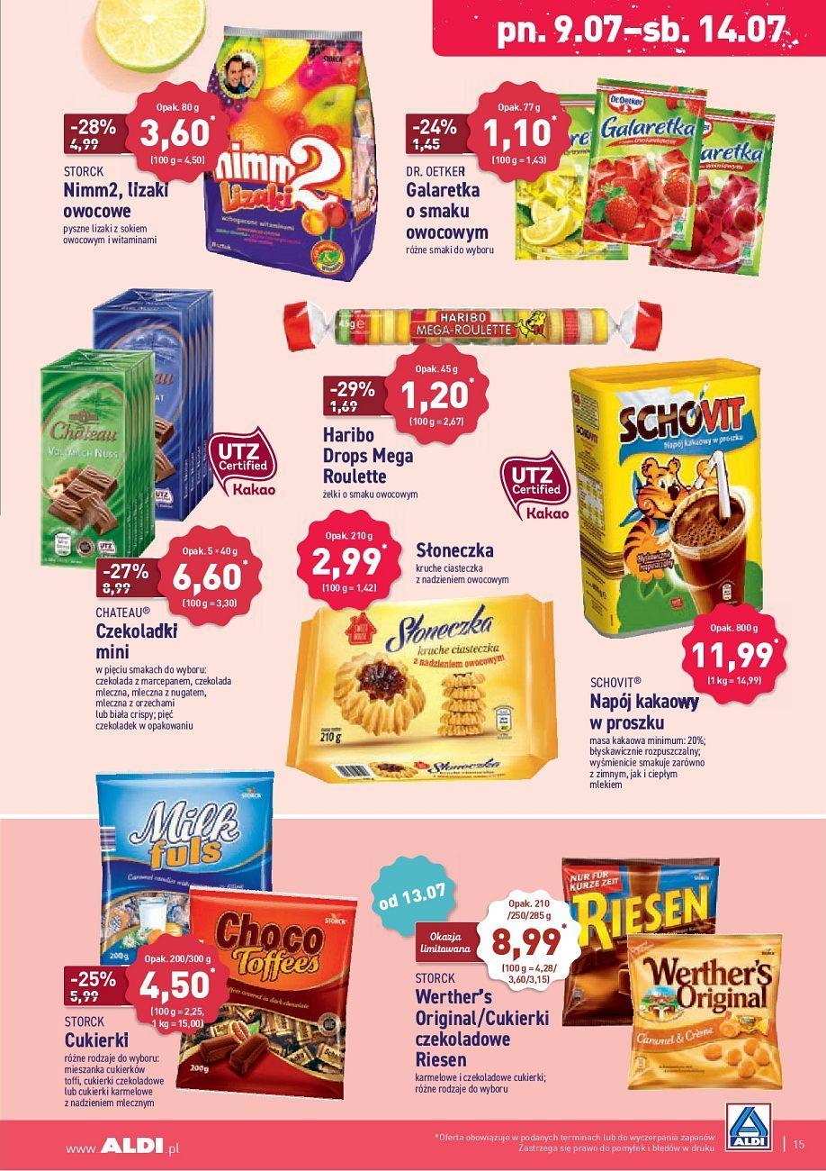 Gazetka promocyjna ALDI do 14/07/2018 str.15