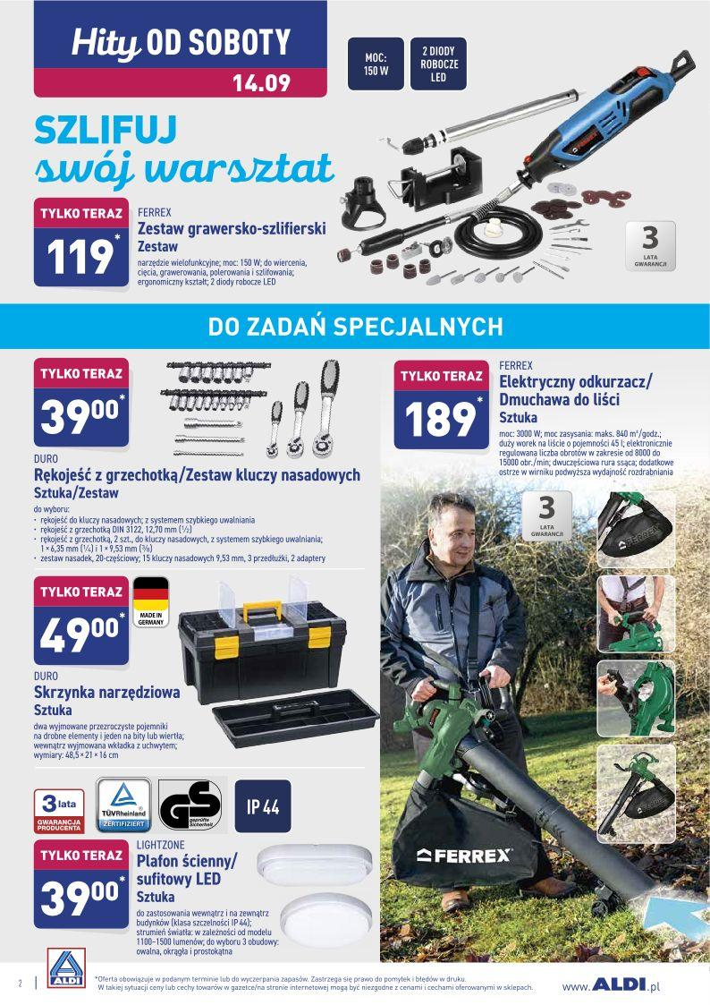 Gazetka promocyjna ALDI do 14/09/2019 str.2