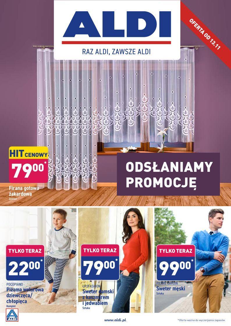 Gazetka promocyjna ALDI do 16/11/2019 str.1