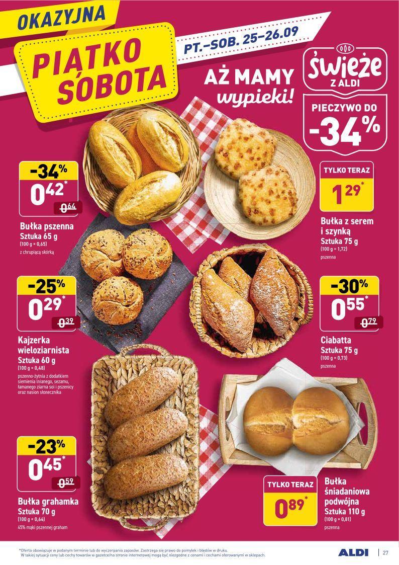 Gazetka promocyjna ALDI do 27/09/2020 str.26