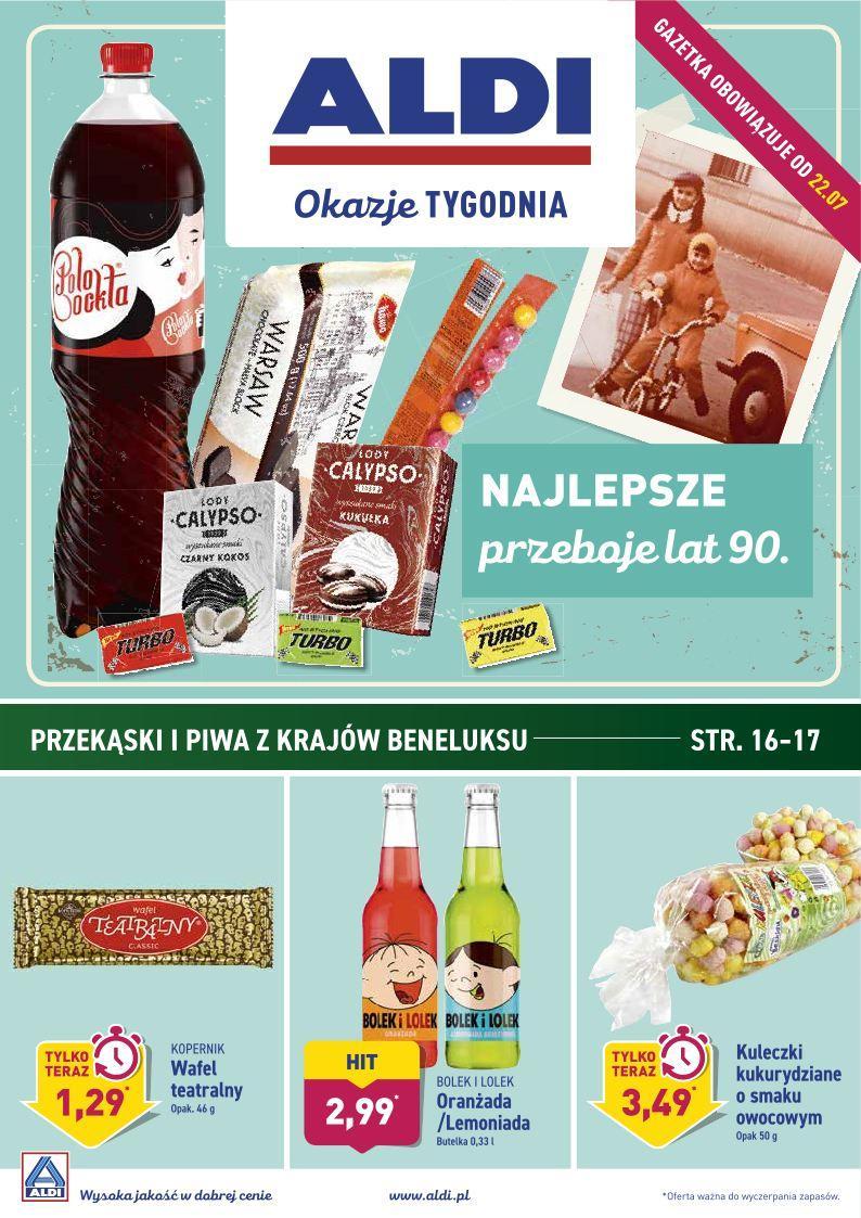 Gazetka promocyjna ALDI do 28/07/2019 str.0