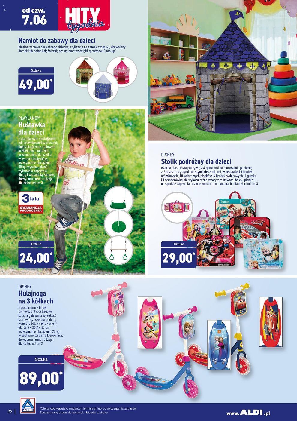 Gazetka promocyjna ALDI do 09/06/2018 str.22