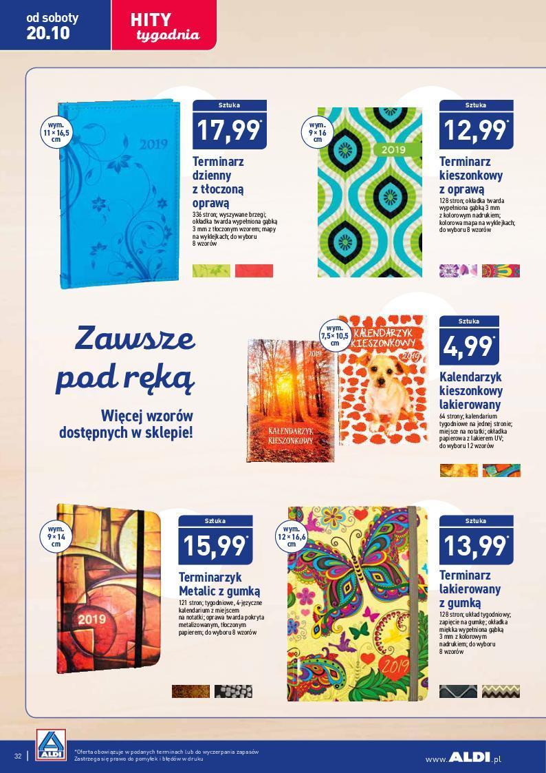 Gazetka promocyjna ALDI do 21/10/2018 str.32