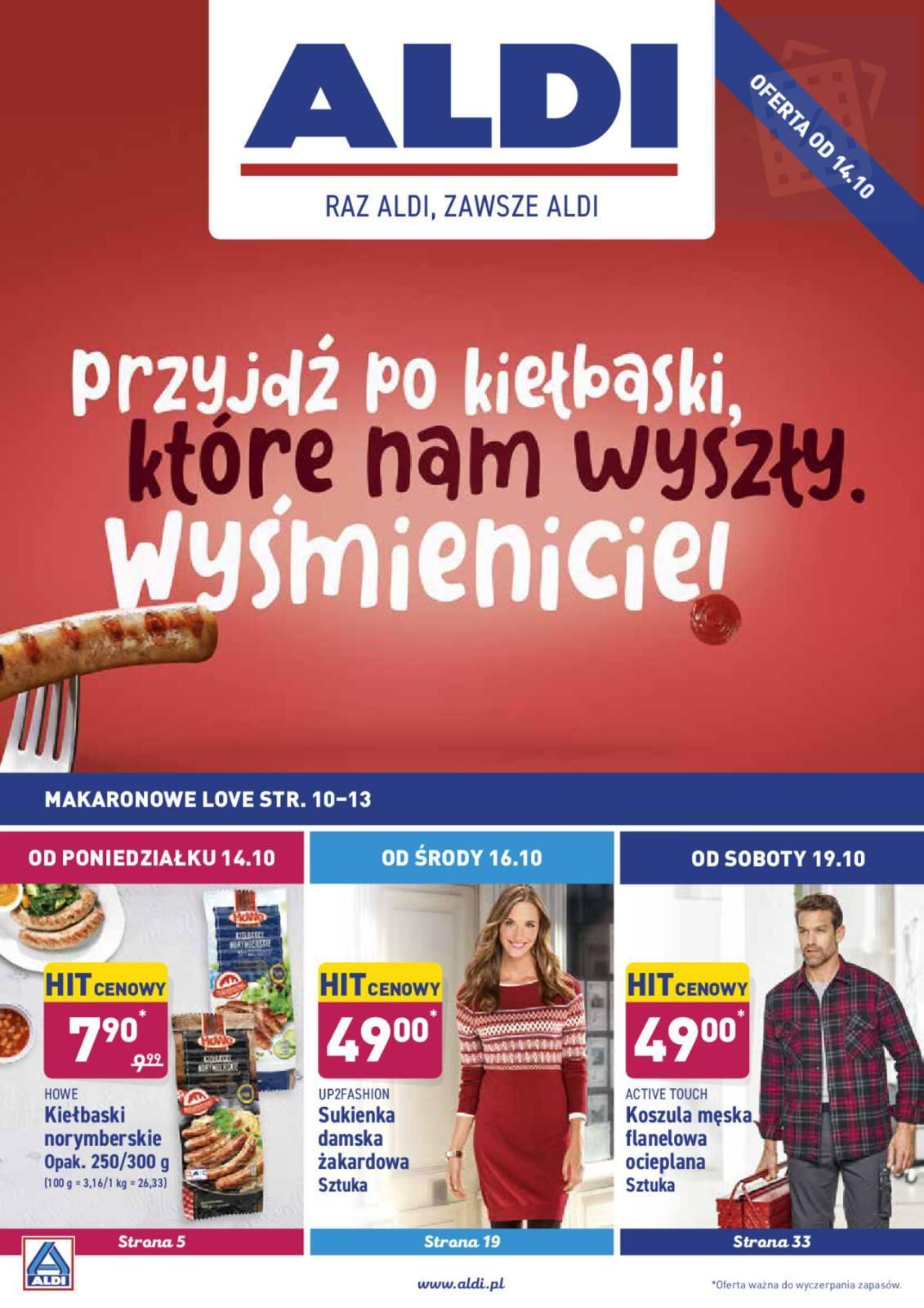 Gazetka promocyjna ALDI do 19/10/2019 str.1