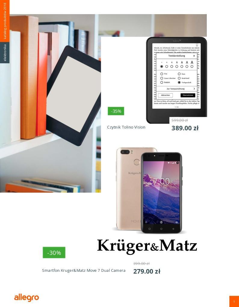Gazetka promocyjna Allegro do 08/04/2018 str.1