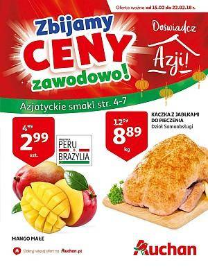 Auchan gazetka - od 15/02/2018 do 22/02/2018