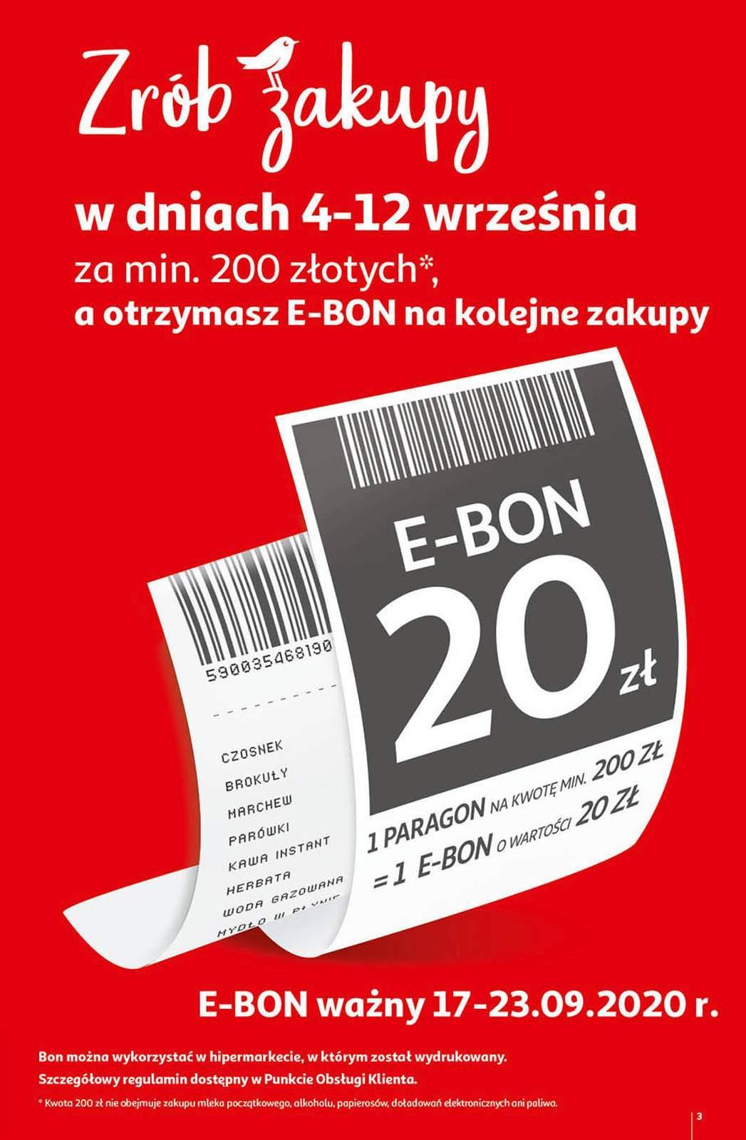 Gazetka promocyjna Auchan do 09/09/2020 str.2