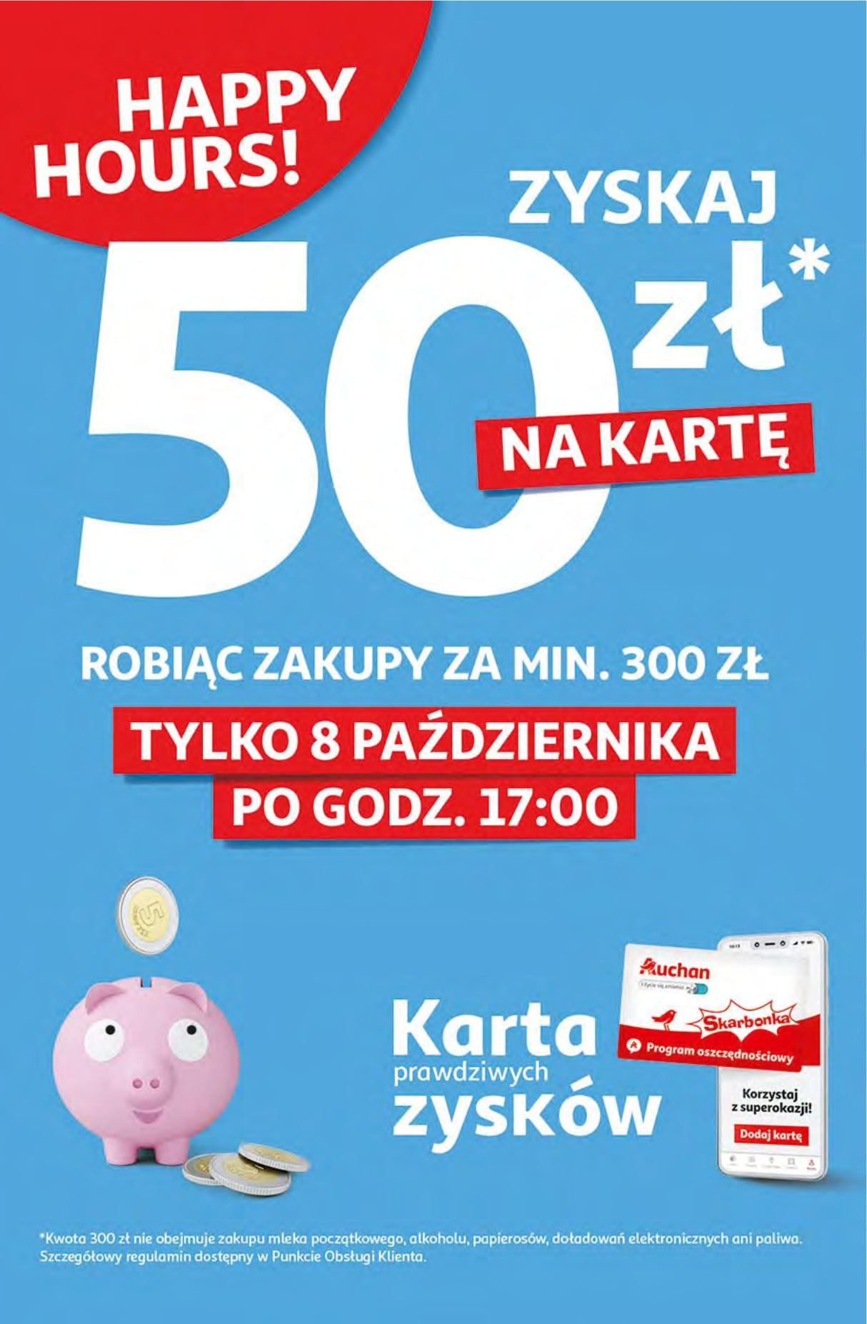 Gazetka promocyjna Auchan do 14/10/2020 str.1