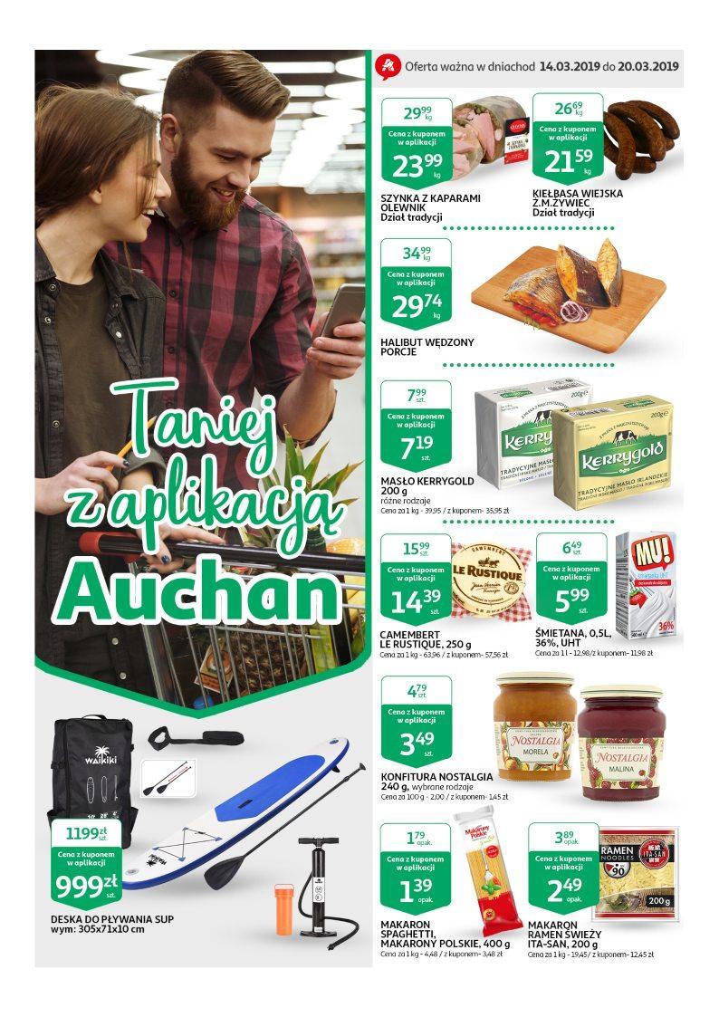 Gazetka promocyjna Auchan do 20/03/2019 str.0