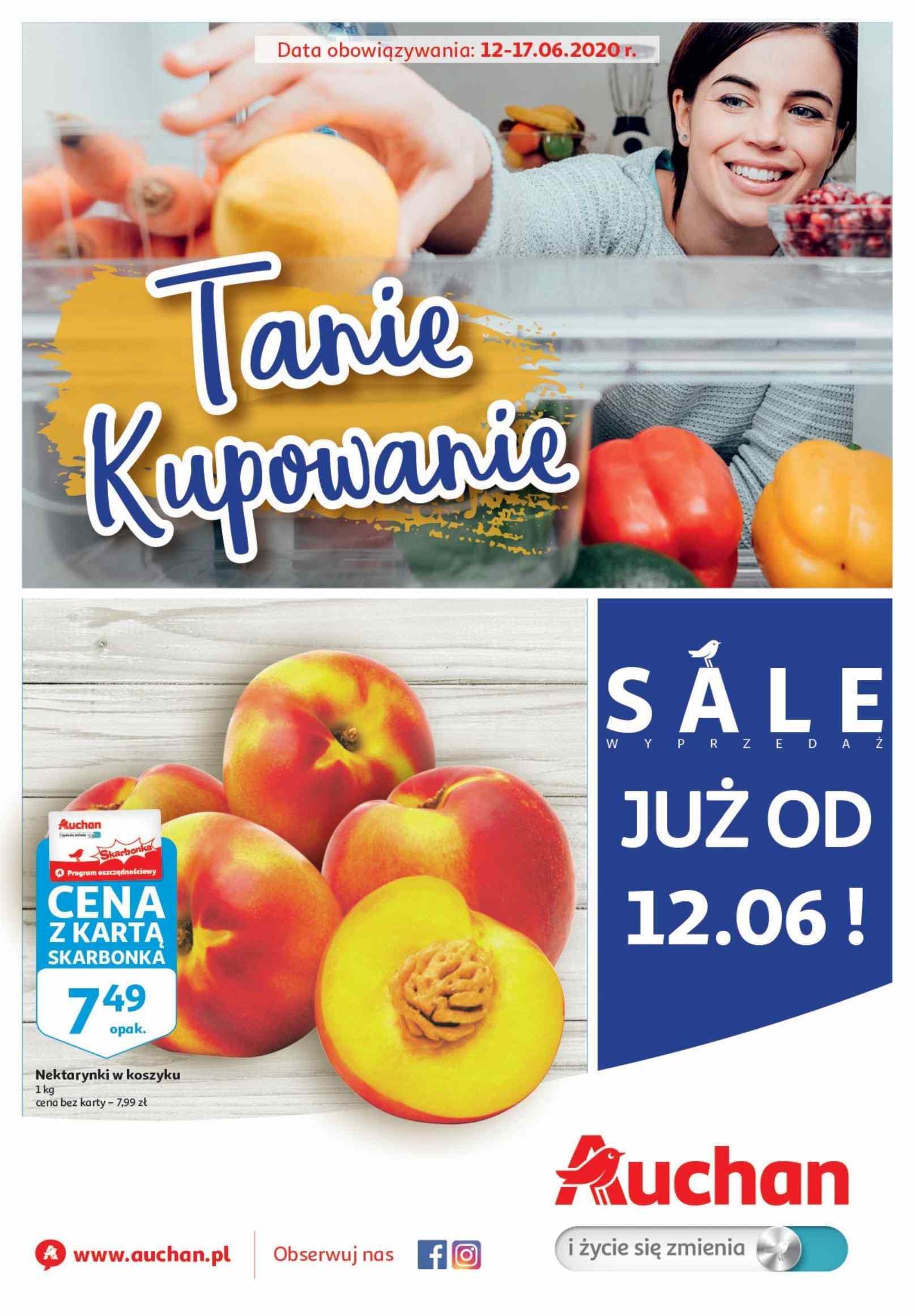 Gazetka promocyjna Auchan do 17/06/2020 str.0