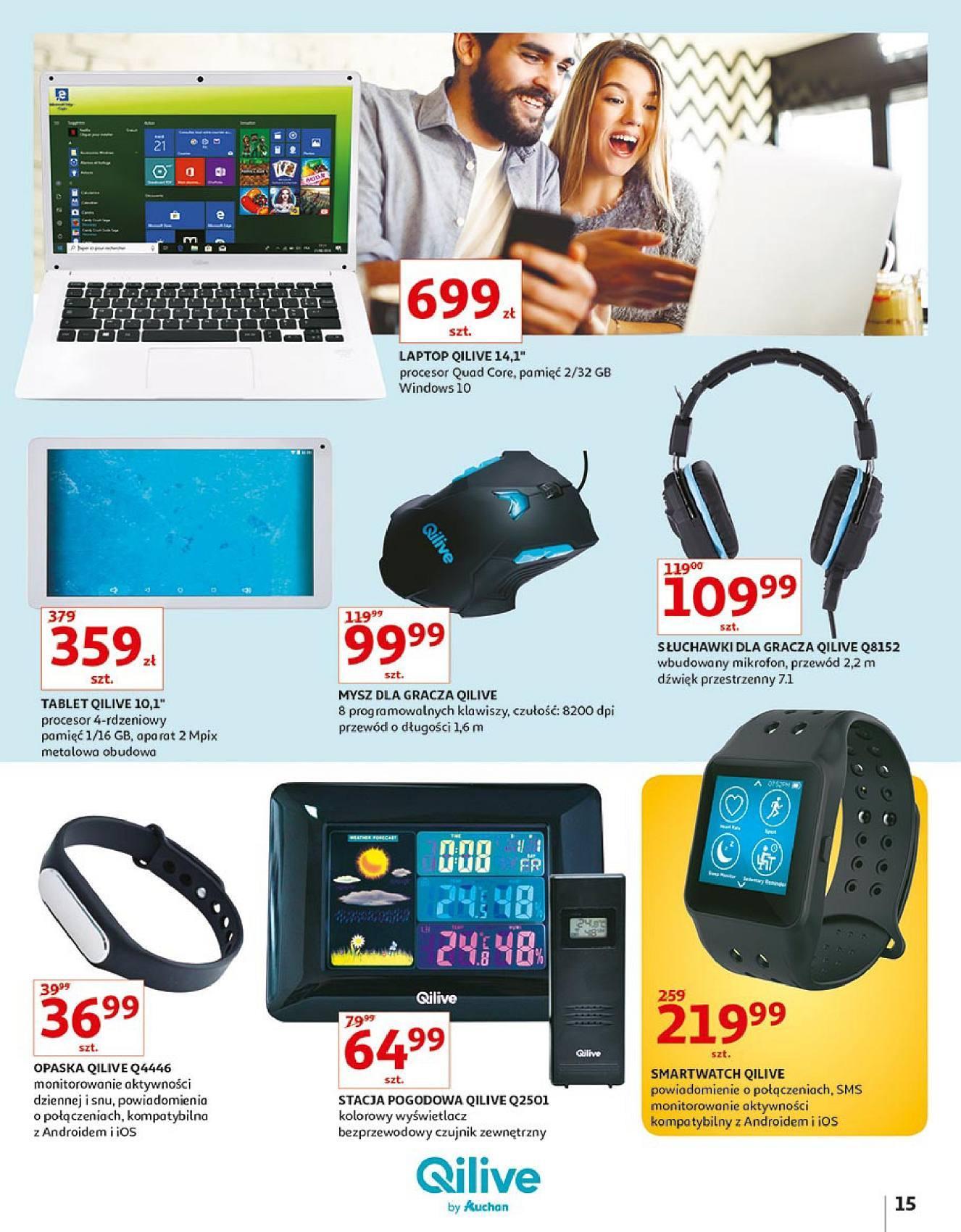 Gazetka promocyjna Auchan do 14/10/2018 str.15