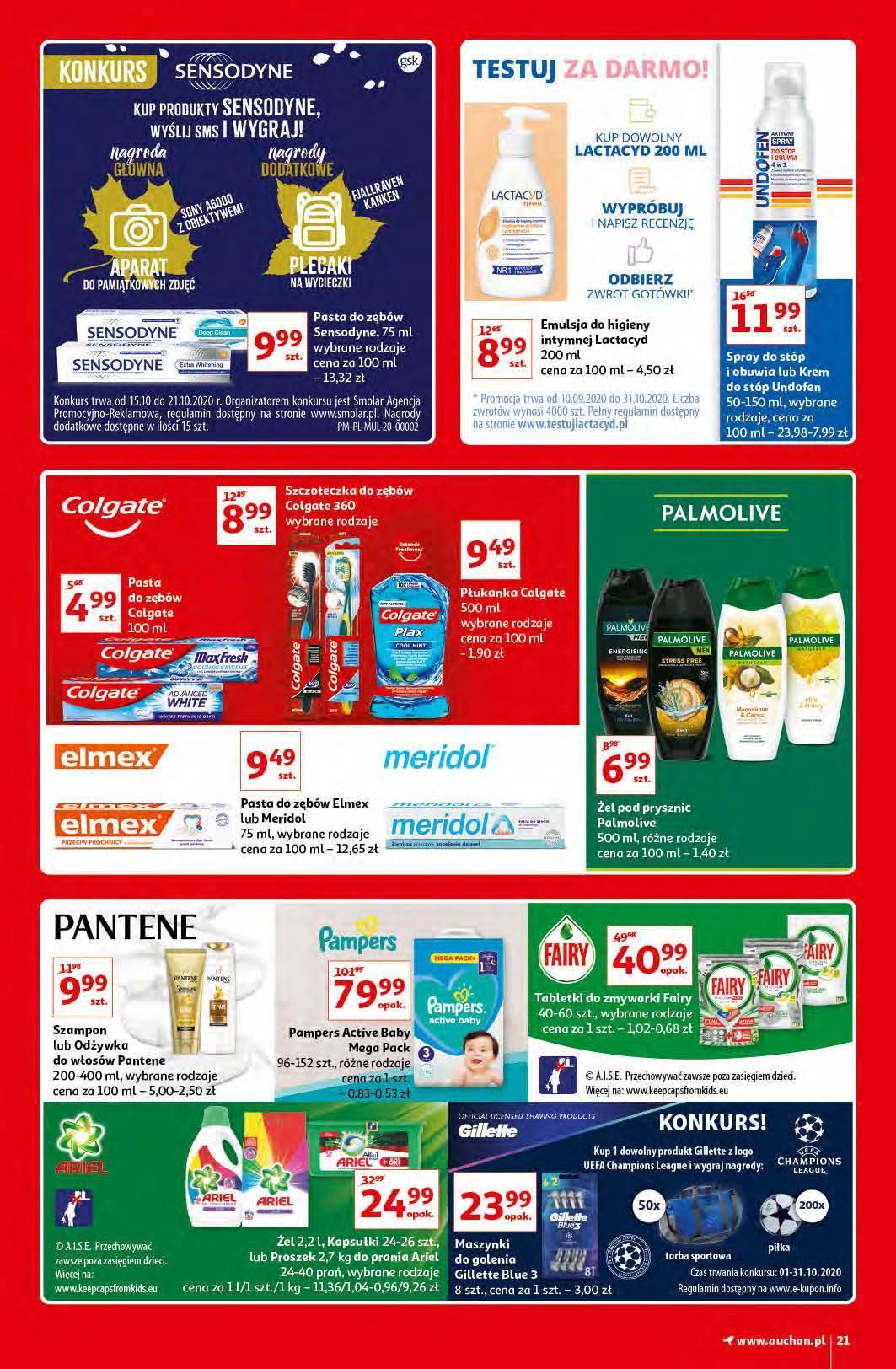 Gazetka promocyjna Auchan do 21/10/2020 str.20