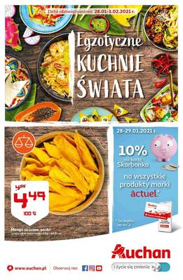 Auchan gazetka  - od 28/01/2021 do 03/02/2021