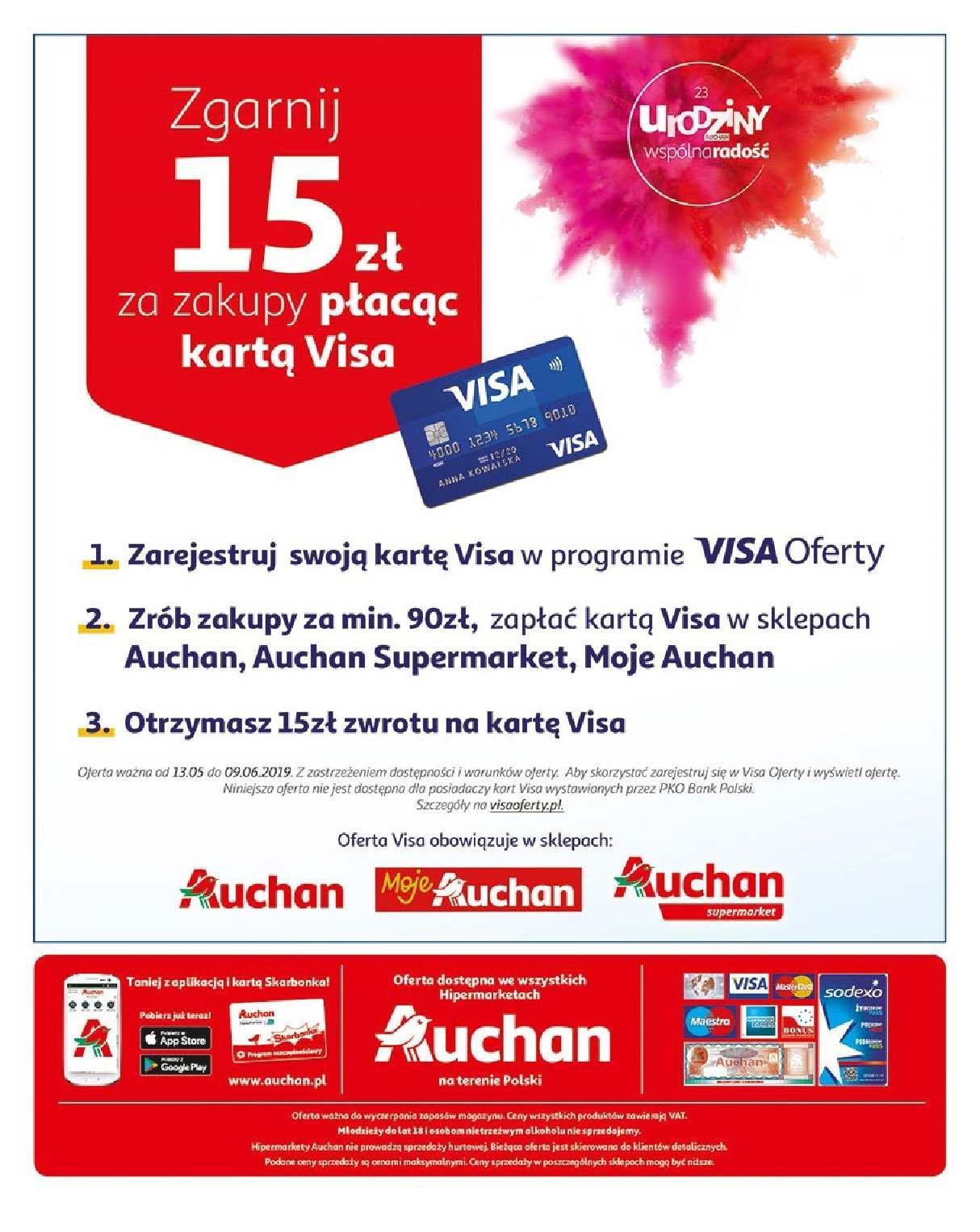 Gazetka promocyjna Auchan do 23/05/2019 str.48