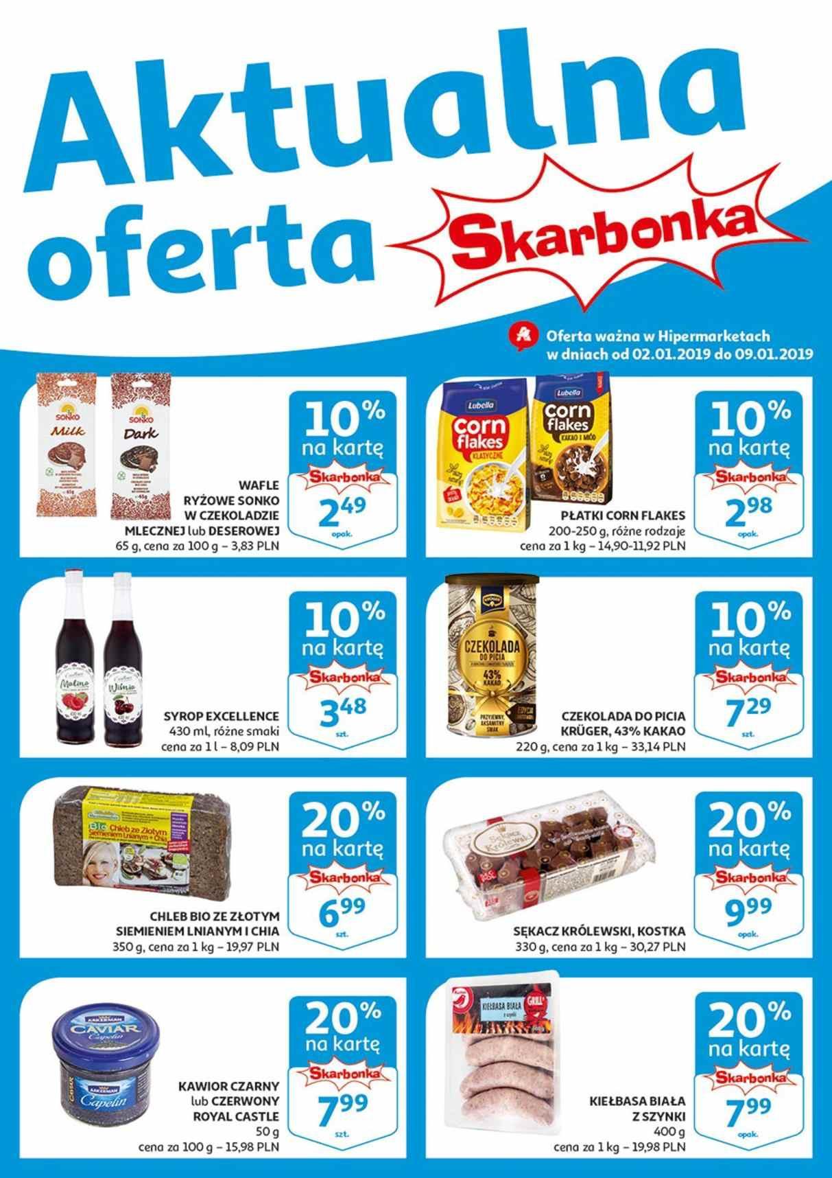 Gazetka promocyjna Auchan do 09/01/2019 str.0