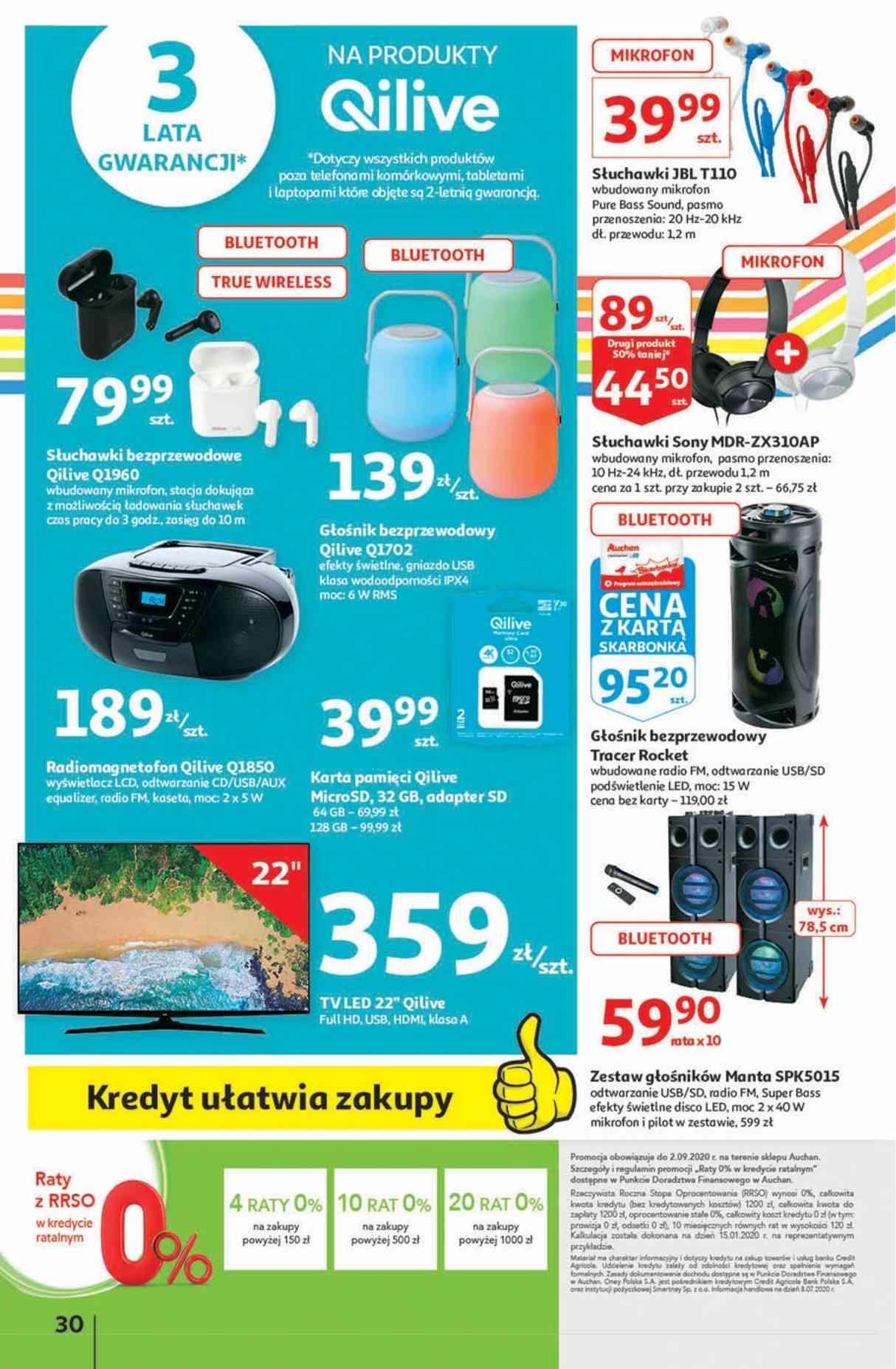Gazetka promocyjna Auchan do 05/08/2020 str.29