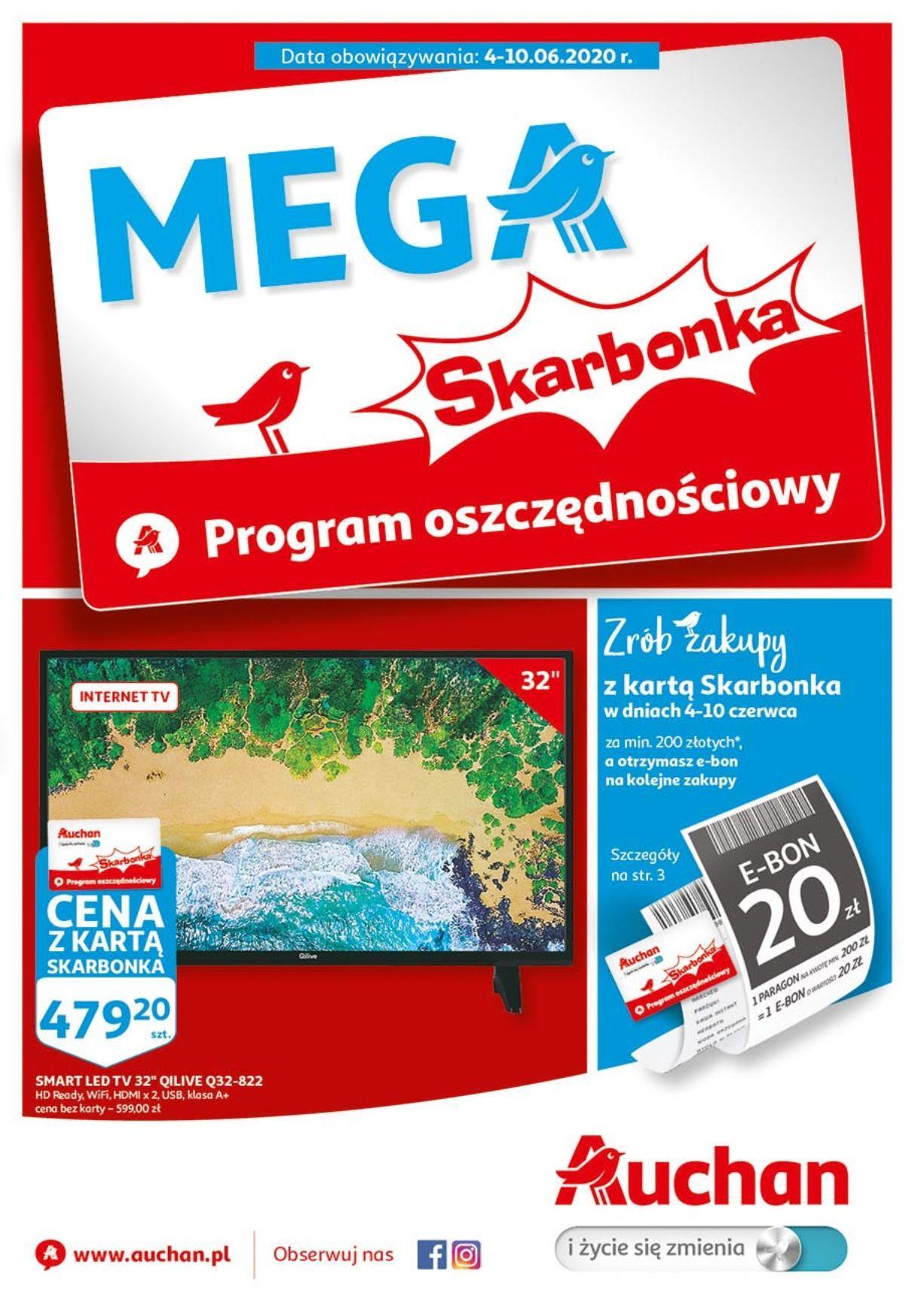 Gazetka promocyjna Auchan do 10/06/2020 str.0