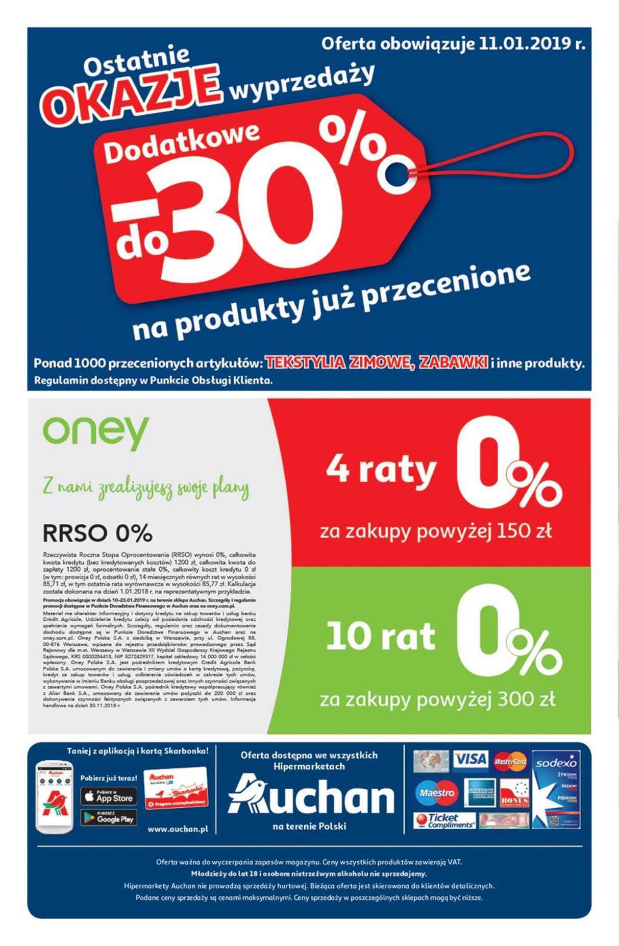 Gazetka promocyjna Auchan do 23/01/2019 str.28