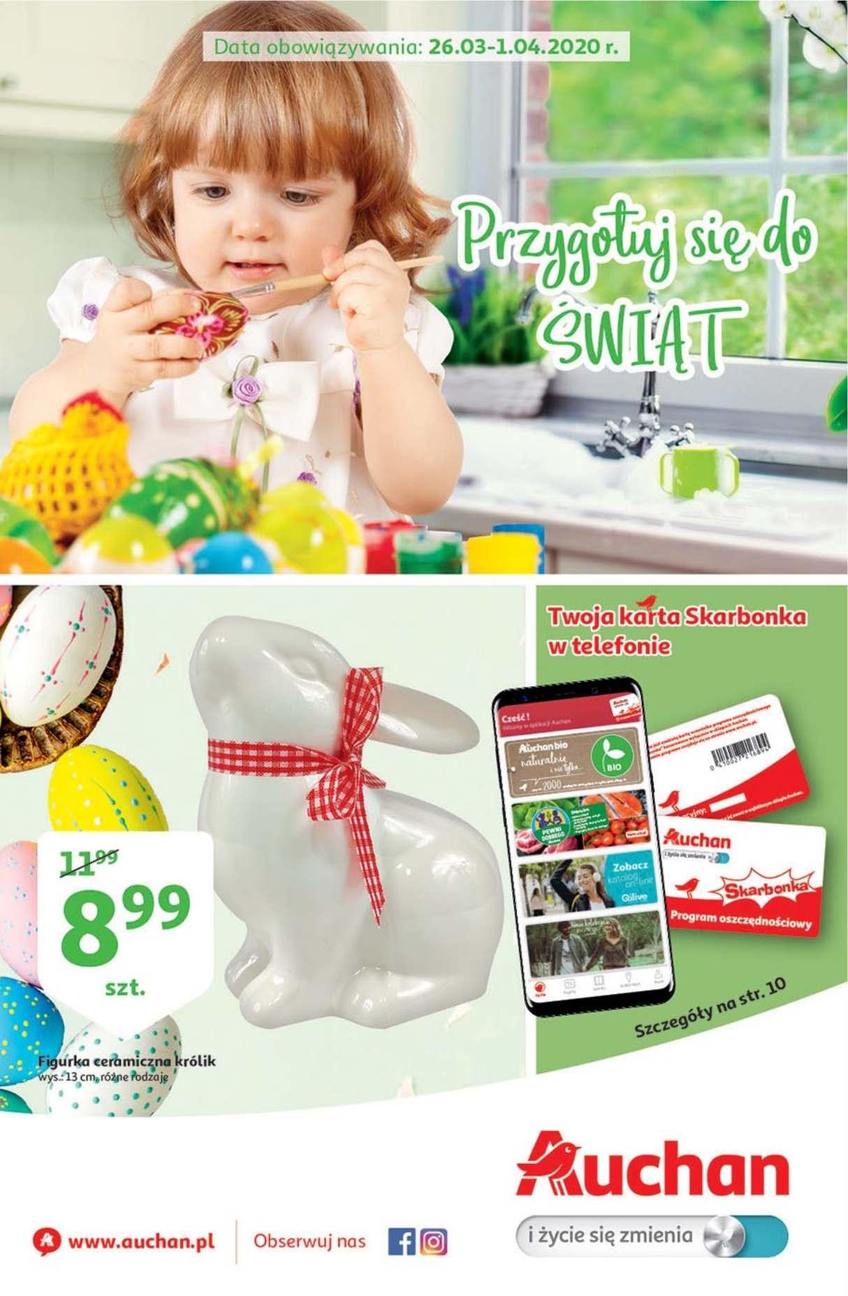 Gazetka promocyjna Auchan do 01/04/2020 str.1