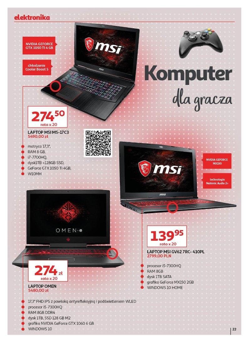 Gazetka promocyjna Auchan do 05/06/2019 str.22