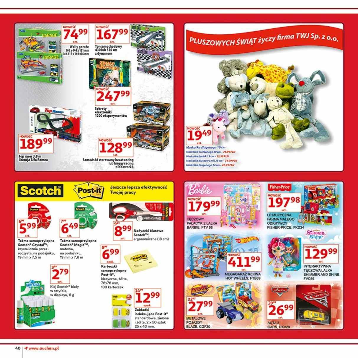 Gazetka promocyjna Auchan do 12/12/2018 str.40