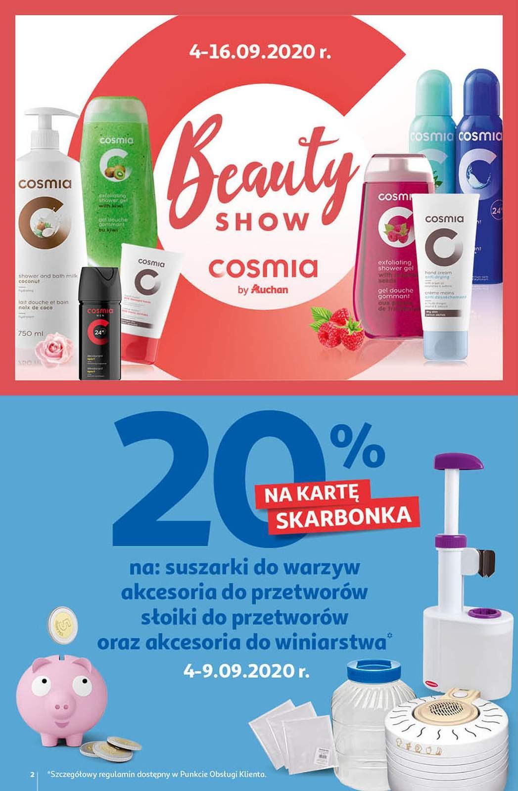 Gazetka promocyjna Auchan do 09/09/2020 str.1
