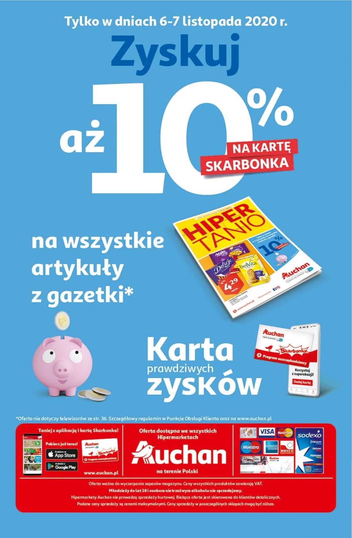 Gazetka promocyjna Auchan do 10/11/2020 str.39