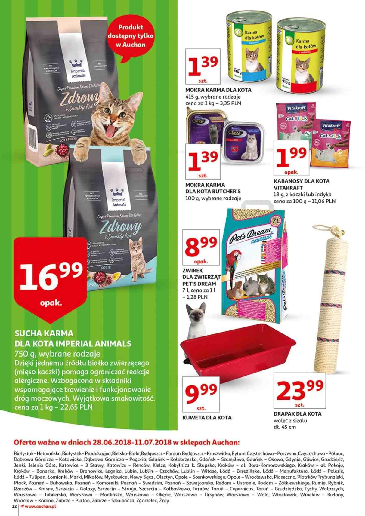 Gazetka promocyjna Auchan do 11/07/2018 str.12