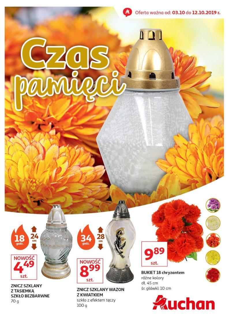 Gazetka promocyjna Auchan do 12/10/2019 str.1