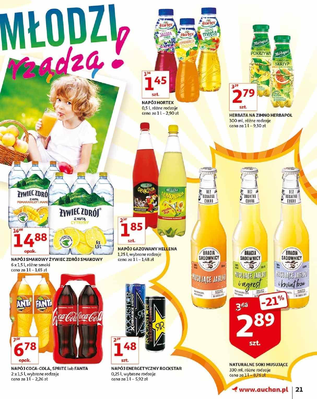 Gazetka promocyjna Auchan do 21/08/2019 str.21