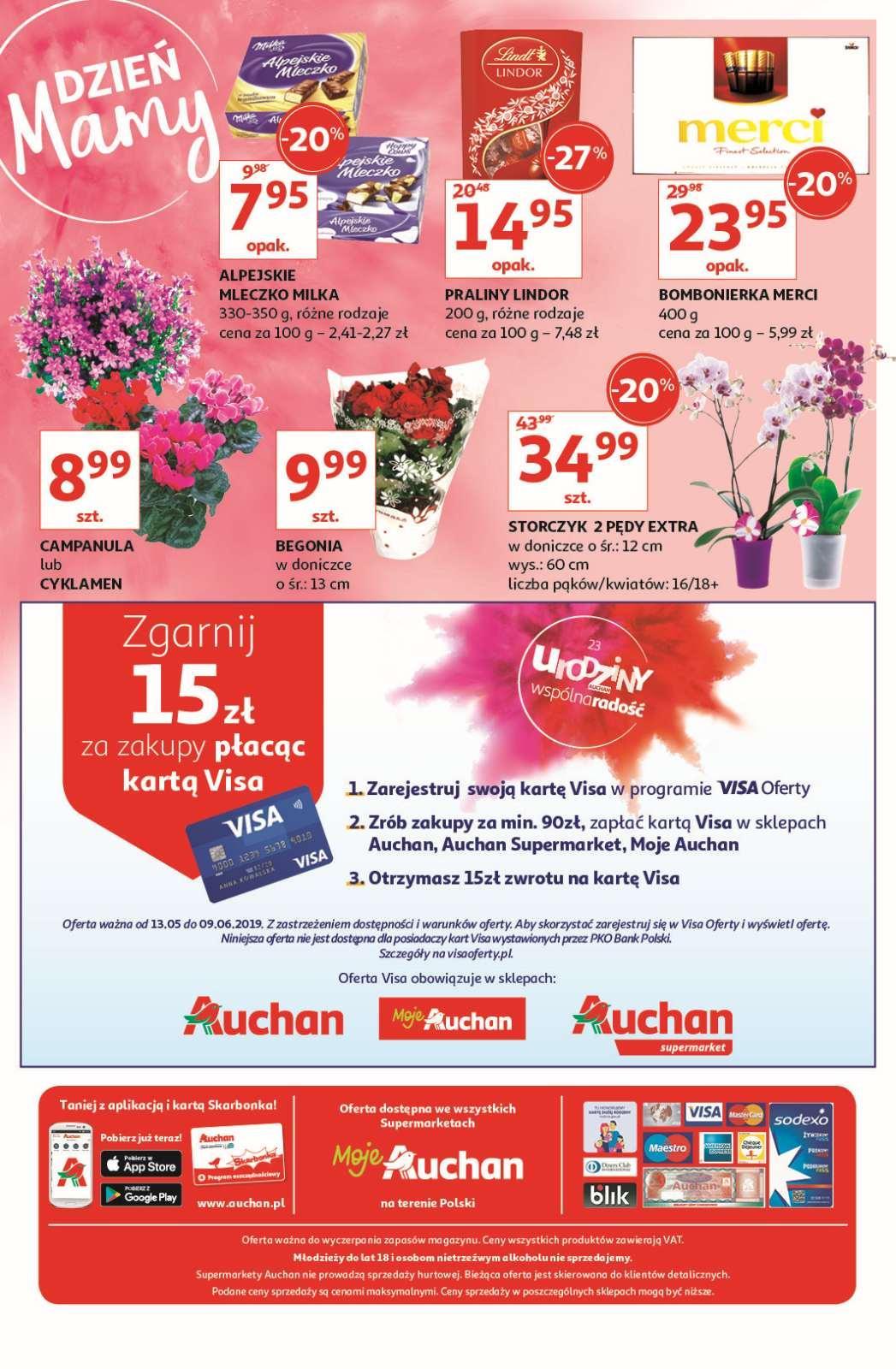 Gazetka promocyjna Auchan do 01/06/2019 str.4
