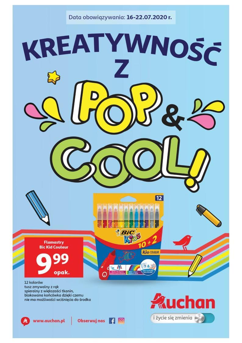 Gazetka promocyjna Auchan do 22/07/2020 str.1