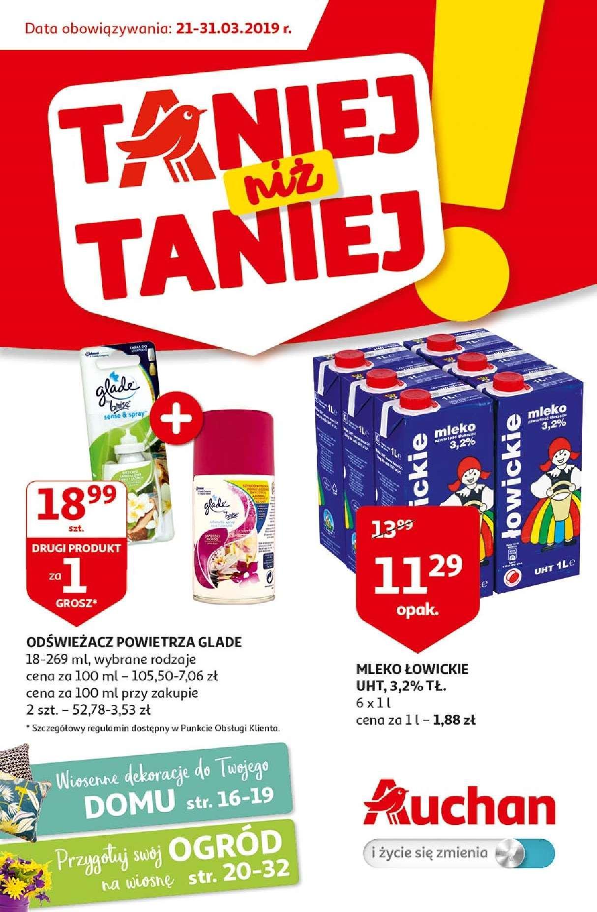 Gazetka promocyjna Auchan do 31/03/2019 str.0