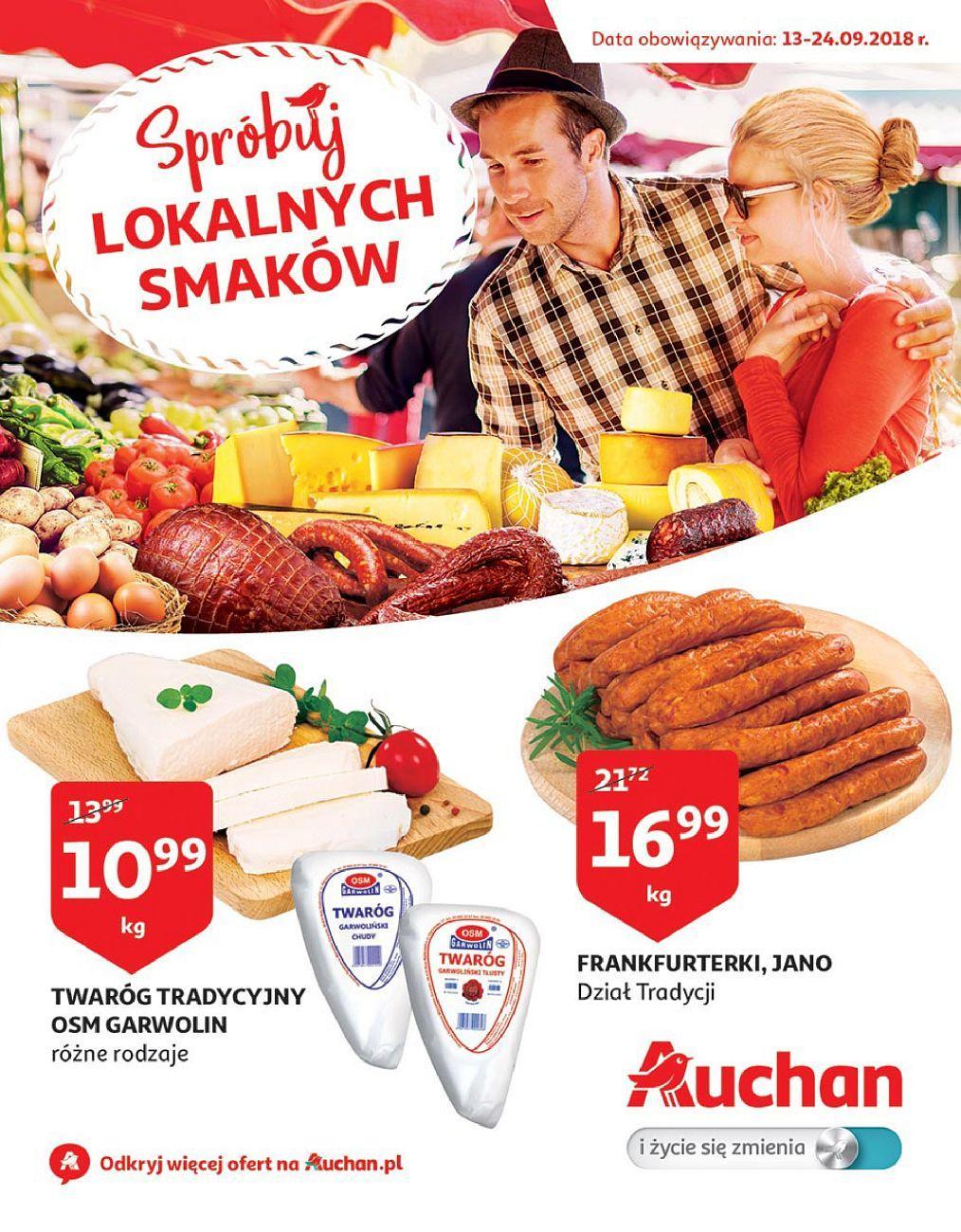 Gazetka promocyjna Auchan do 24/09/2018 str.1