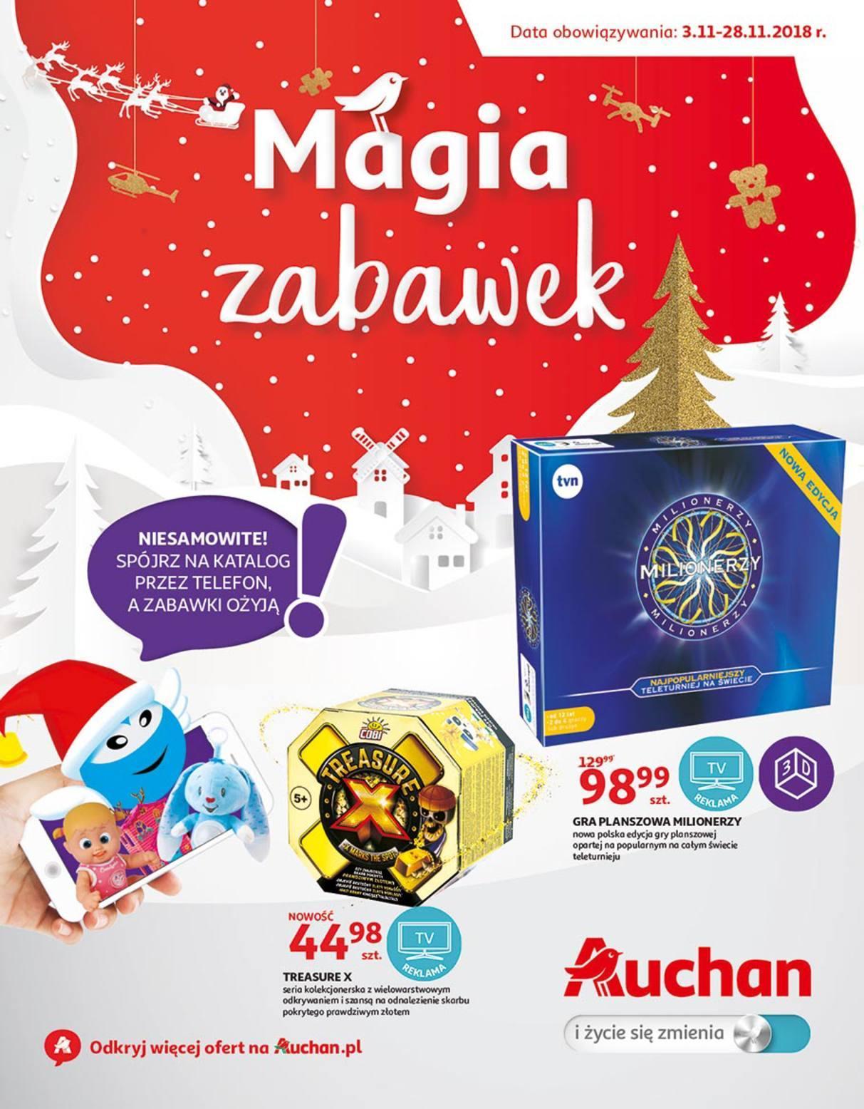 Gazetka promocyjna Auchan do 28/11/2018 str.1