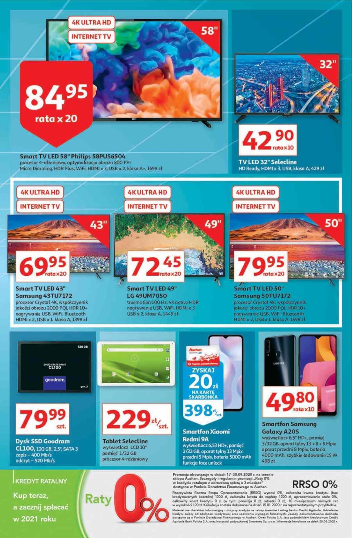 Gazetka promocyjna Auchan do 24/09/2020 str.32