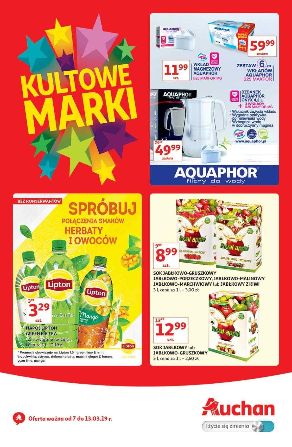 Gazetka promocyjna Auchan do 13/03/2019 str.1