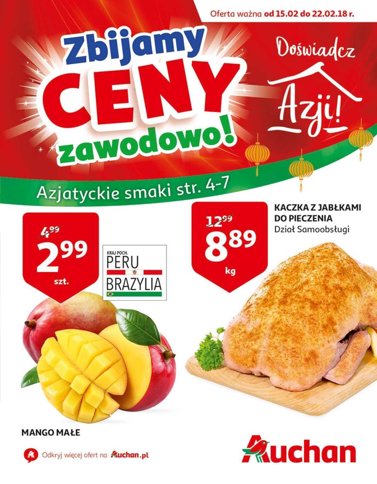 Gazetka promocyjna Auchan do 22/02/2018 str.1