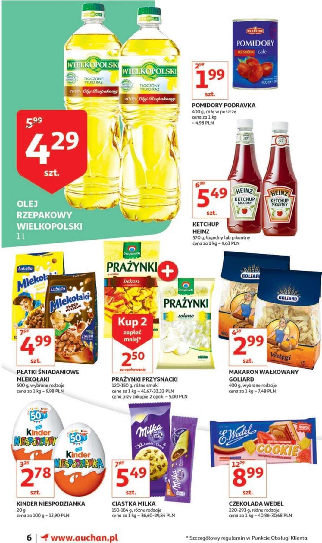 Gazetka promocyjna Auchan do 16/01/2019 str.6