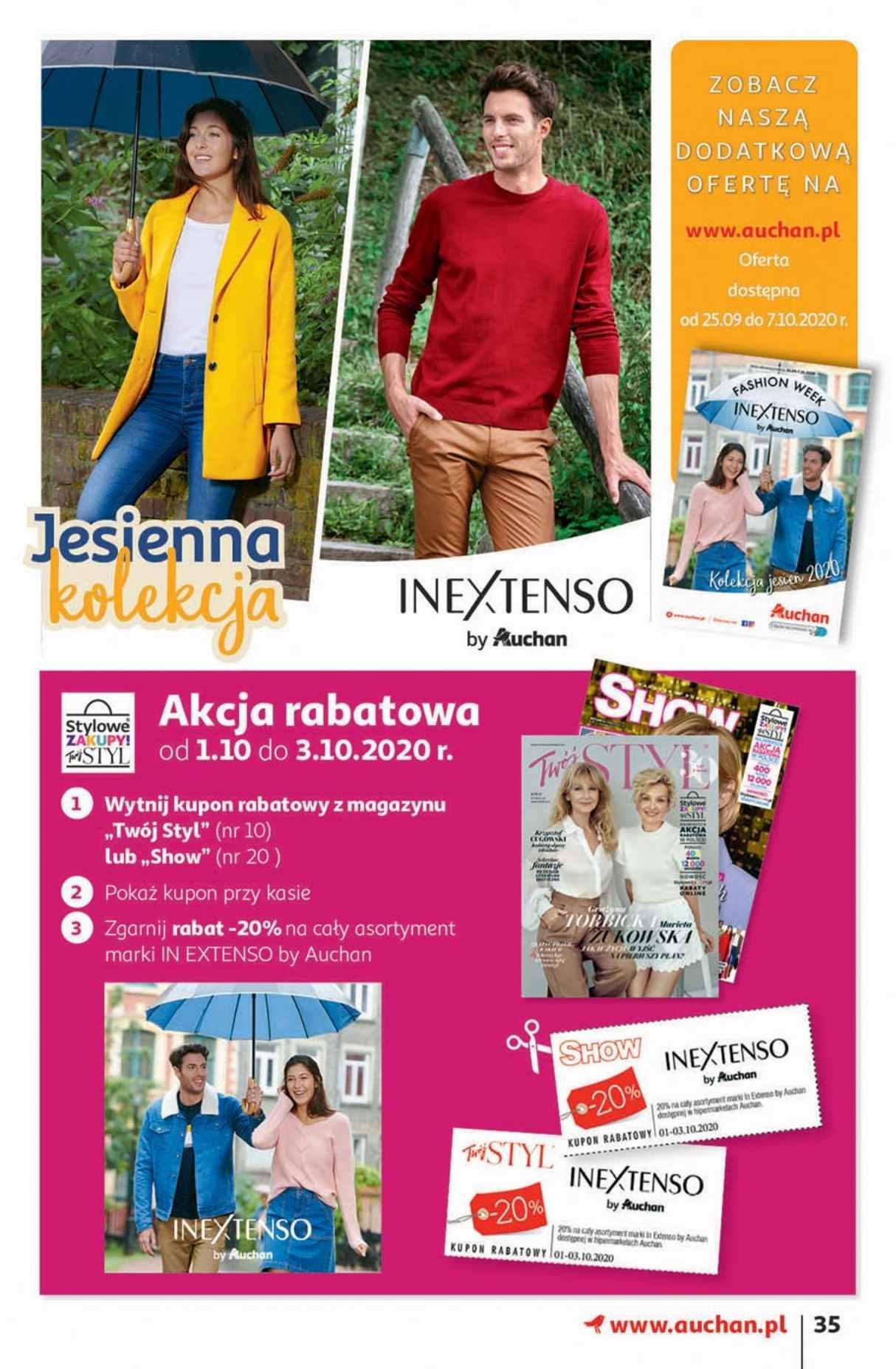 Gazetka promocyjna Auchan do 07/10/2020 str.34